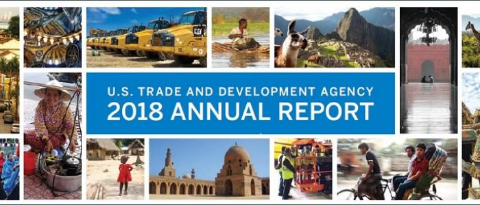 US Trade and Development Agency 2018 Annual Report